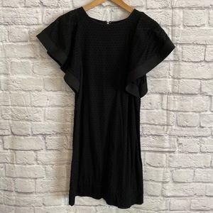 3/$30🦋 J. CREW Factory Dot Flounce Sleeve Dress